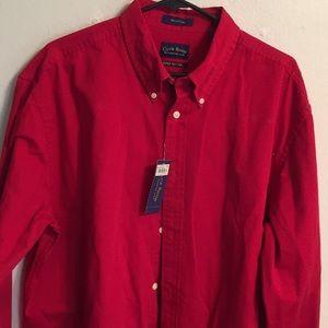 Club Room shirt NWT 100% Cotton size XL